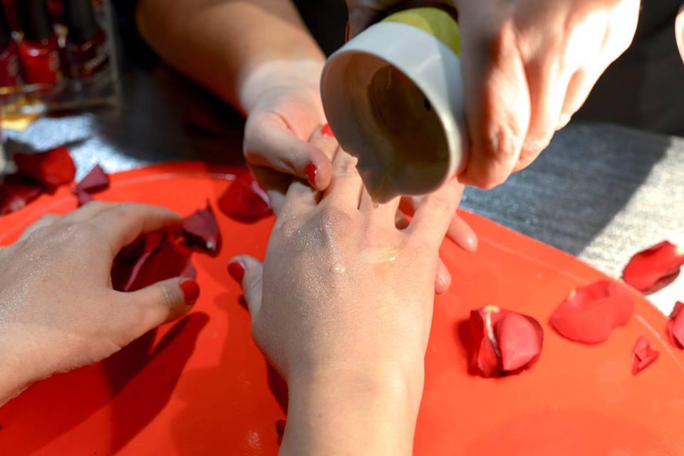 massage main bougie