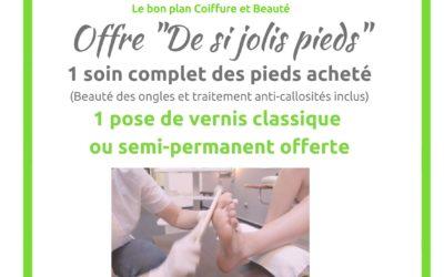 Offre «De si jolis pieds»